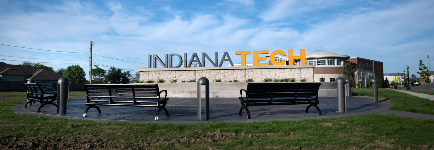 Indiana Tech Sign